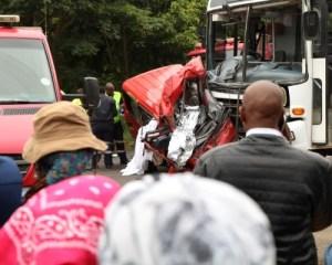 WATCH: Terrifying dash cam footage of fatal KZN taxi crash