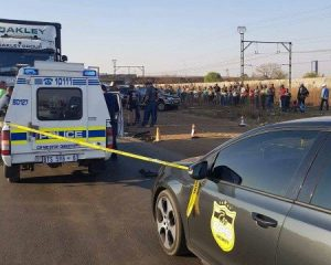 Truck driver in shootout with hijackers