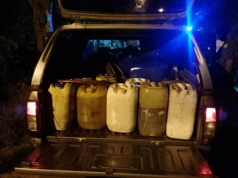 Stolen diesel recovered