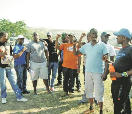 Durban's GSF truck drivers down tools, demand better pay