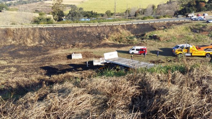 N3 camperdown truck crash