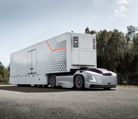 Volvo Trucks developing autonomous electric vehicle for transport
