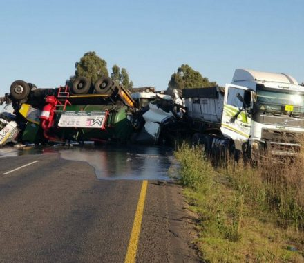 WATCH | Dashcam footage of fatal Bethal trucks crash