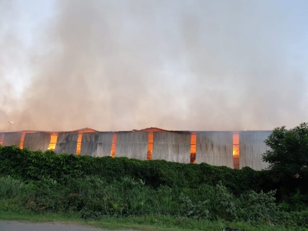 Durban container depot razed in fire
