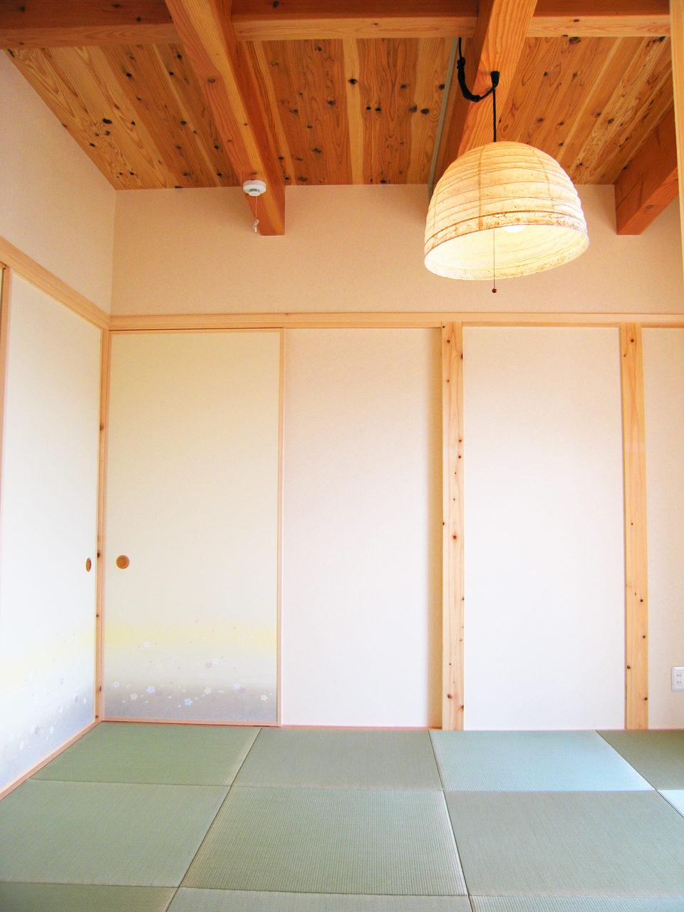 A邸(若いご夫婦が住む民芸風モダン住宅)の和室