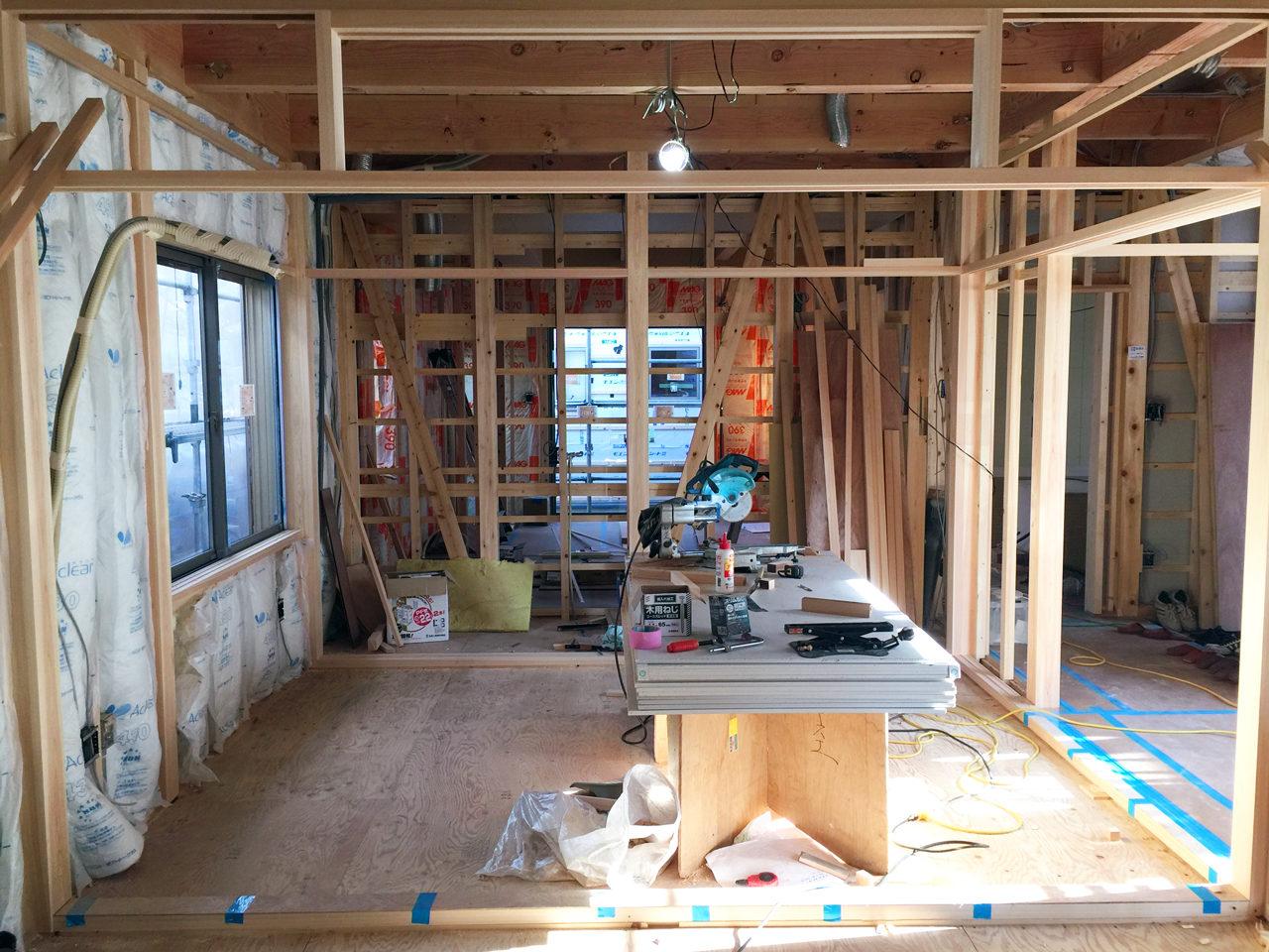 設計・デザインをしたバリアフリー住宅の二間続きの和室