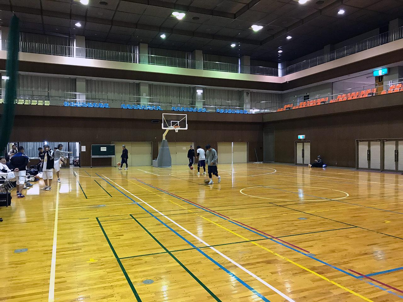 一宮市木曽川バスケットボール大会に参戦