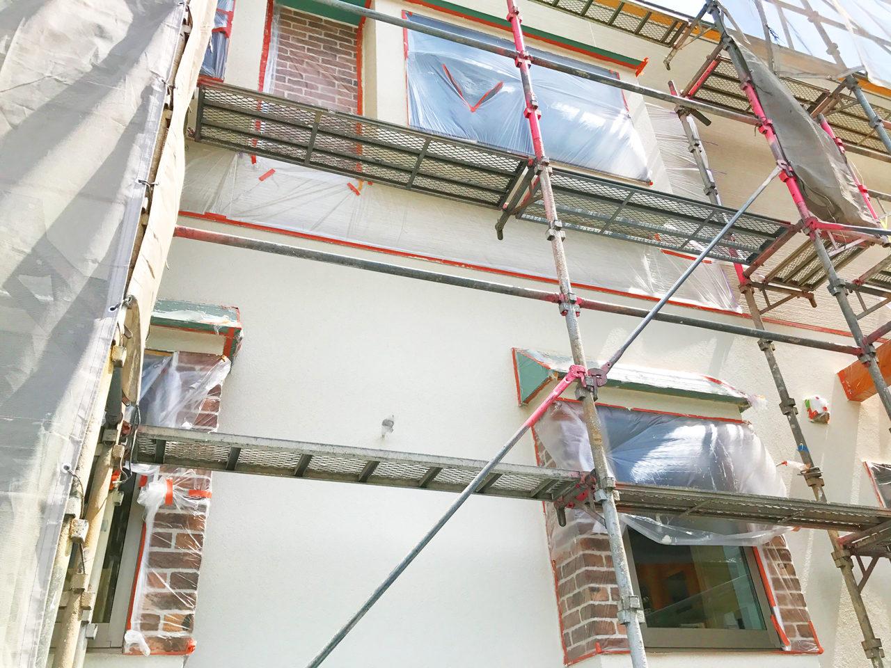 新規独立開院・開業支援をさえていただいた店舗(鍼灸接骨院)付き住宅の外観写真