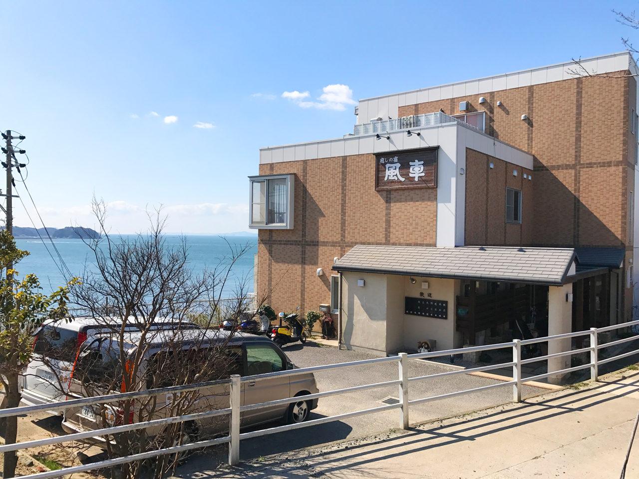 癒しの宿風車様で日間賀島の眺めの良い二世帯住宅の打ち合わせ
