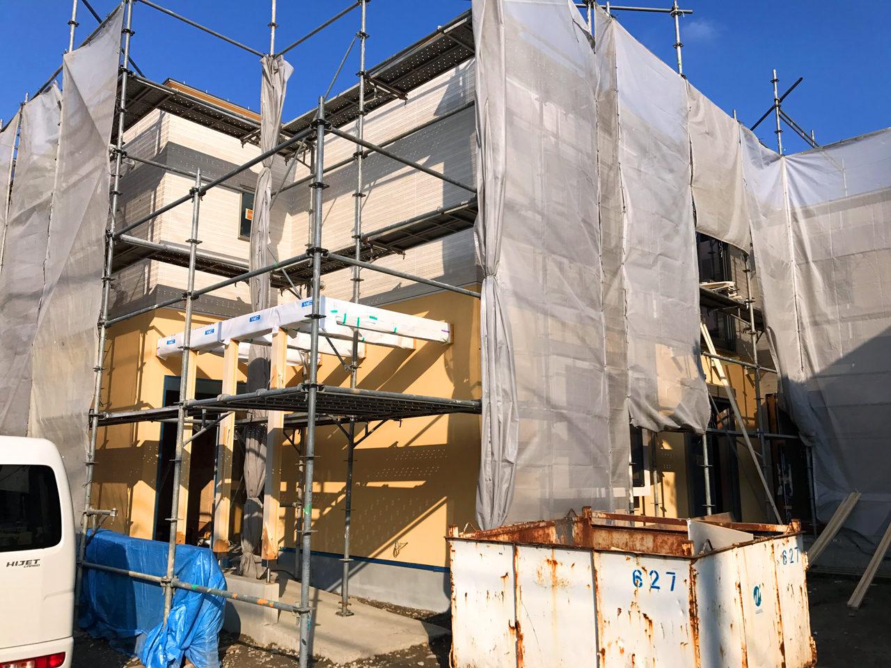 レディース治療院(はり・あん・マッサージ)付き二世帯住宅の現場定例打ち合わせ