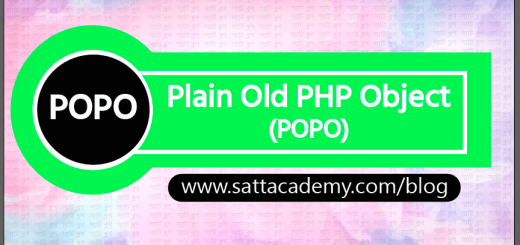 POPO (Plain Old PHP Object)