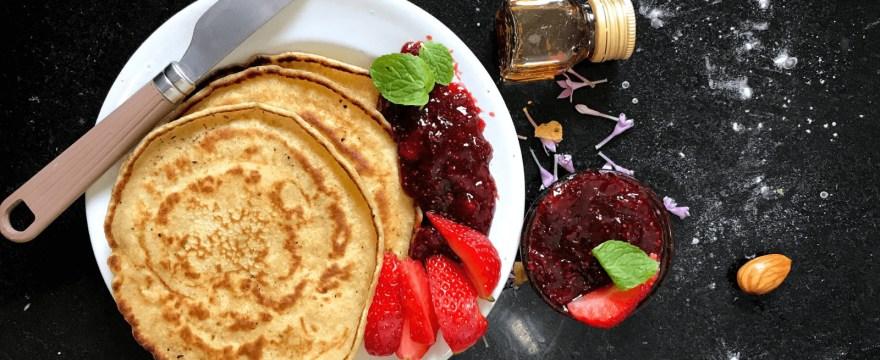 Fettarme Pfannkuchen Rezept vegan