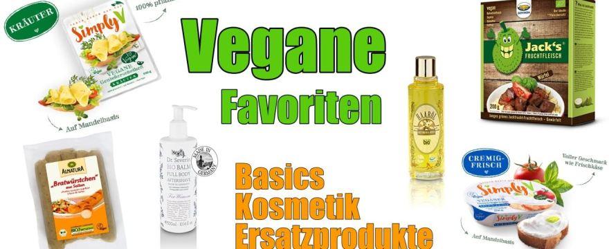 Vegane Alternativen, Ersatzprodukte, Kosmetik uvm. – Unsere Favoriten