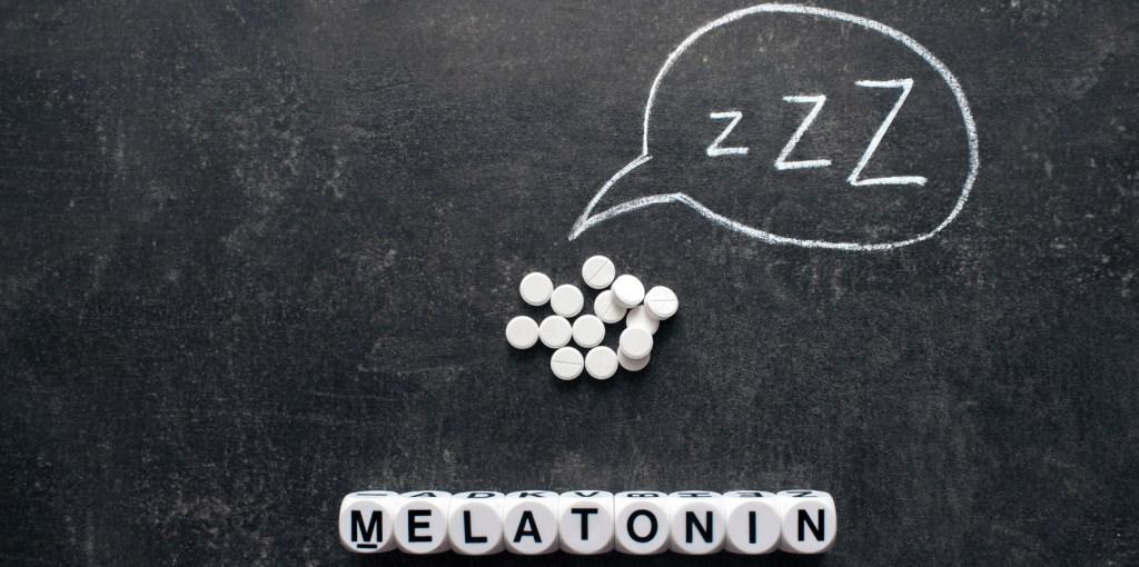 Melatonin Supplement Schlaf