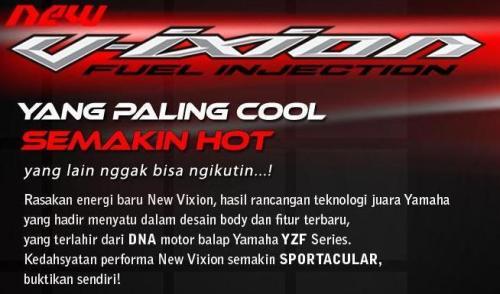 New V-ixion panas dingin...