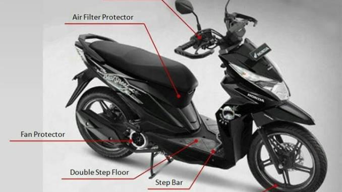 Modifikasi Motor Beat Street Honda Beat Street Modif Simple