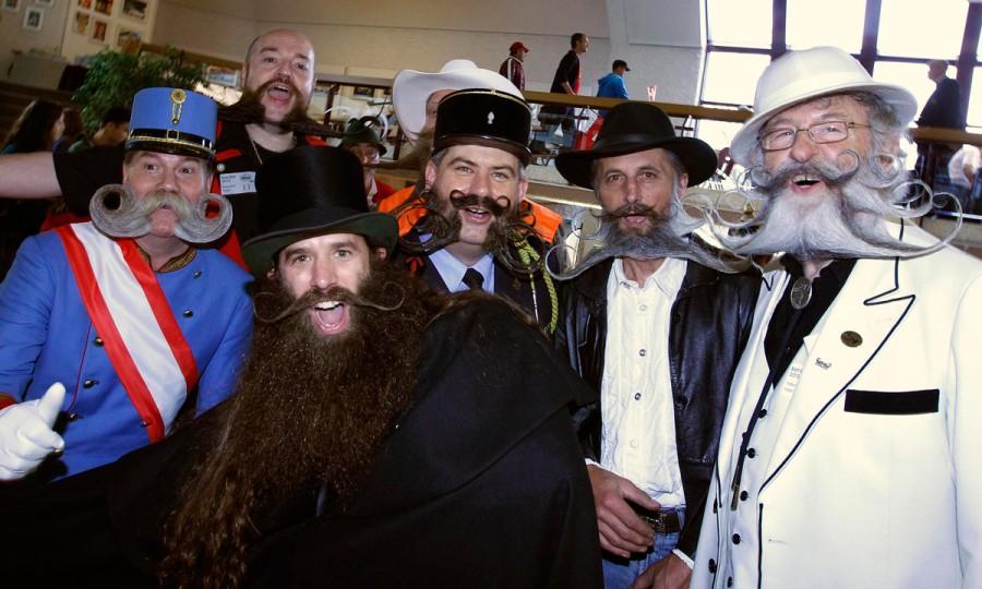 Partisipan The beard world championship 2013
