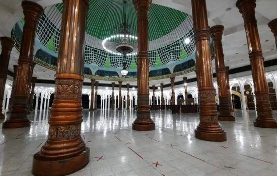 Masjid Seribu Tiang, Wisata Religi di Tanah Pilih Pesako Bertuah