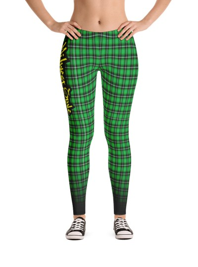 Midwest Style Yoga Pants – Green