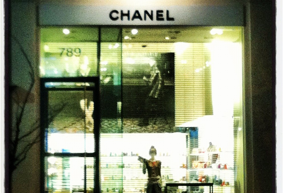Chanel by night