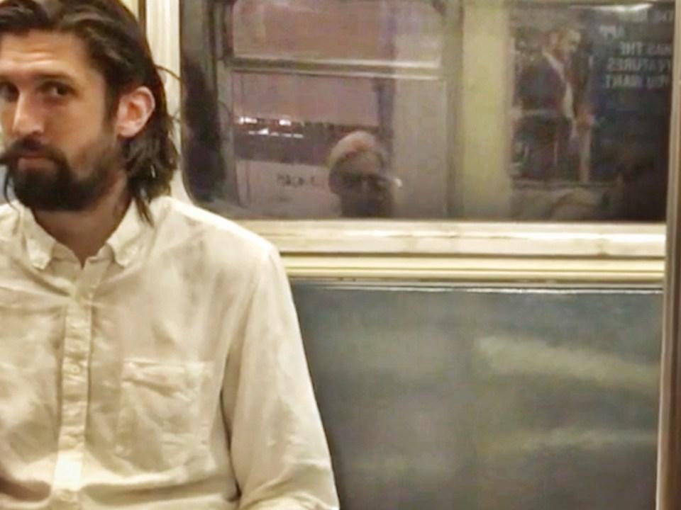 man on subway 13 stops poetry on saturdaysoul.com