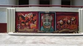 Mural at Hollenbeck Junior High