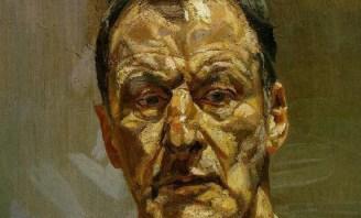 Lucian Freud, from a self-portrait.