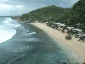 lokasi foto obyek wisata pantai pok tunggal wonosari di yogyakarta