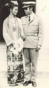 Rogerio Lobato dan Istrinya. [Archives & Museum of East Timorese Resistance]