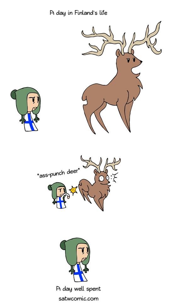 Deer Hunt Scandinavia And The World