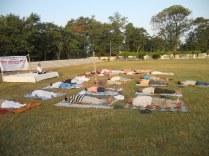 Yoga training , HALtd., Lucknow 28May 2011