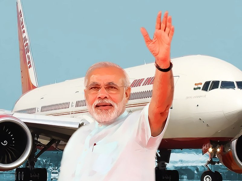 How many Countries Prime Minister Narendra Modi Visited So Far