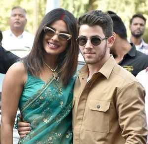 Priyanka and Nick Jones