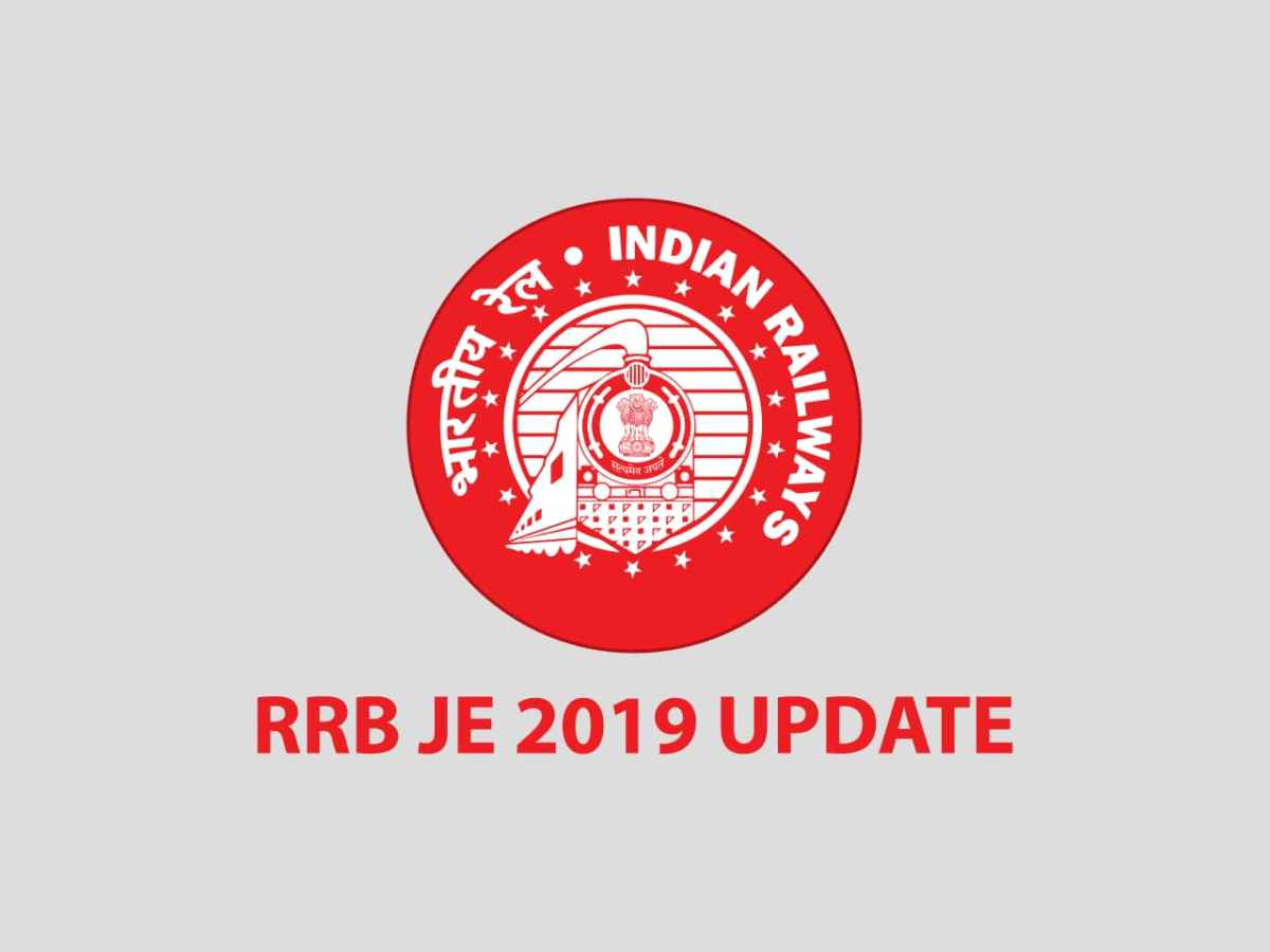 RRB JE 2019 Exam Language Update Notification