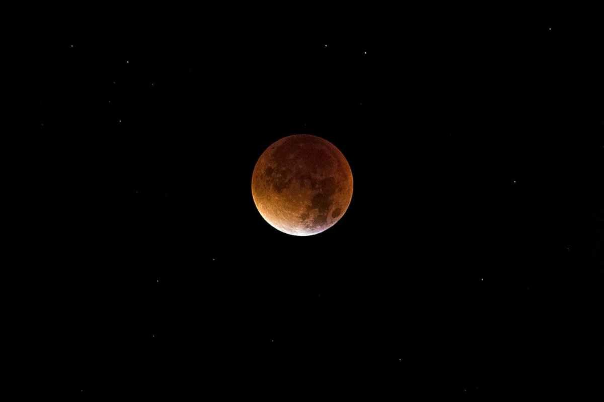 First Lunar Eclipse 2020