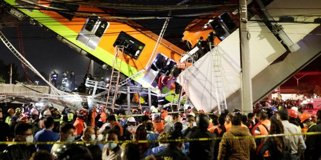 Subway Train Derails in Mexico City Scores Are Injured Reports