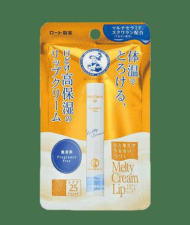 No.6 曼秀雷敦Mentholatum Melty Cream Lip溫感高保濕潤唇膏 2.4g $55.7