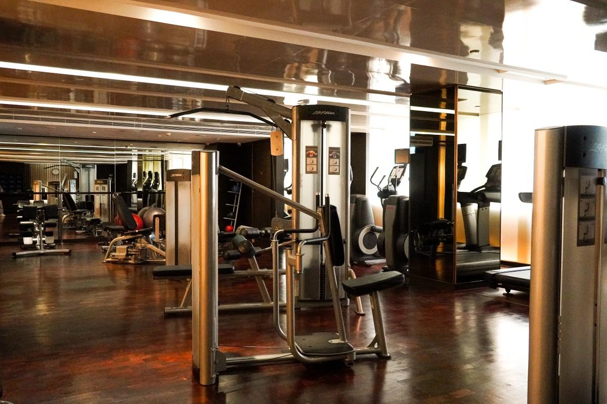 24小時開放健身室