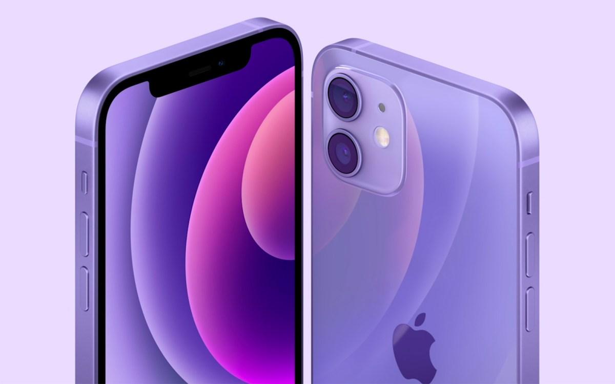iPhone 12 全新紫色