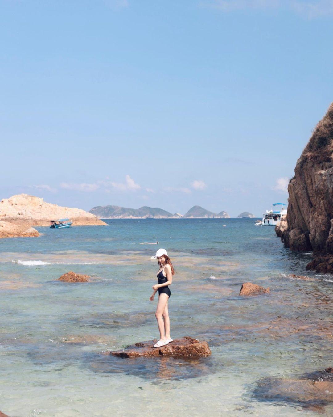如此美麗的大自然環境,完全能媲美不少度假勝地的景色,難怪有「港版馬爾代夫水」的別名。(圖片授權轉載:IG@emily_0224)