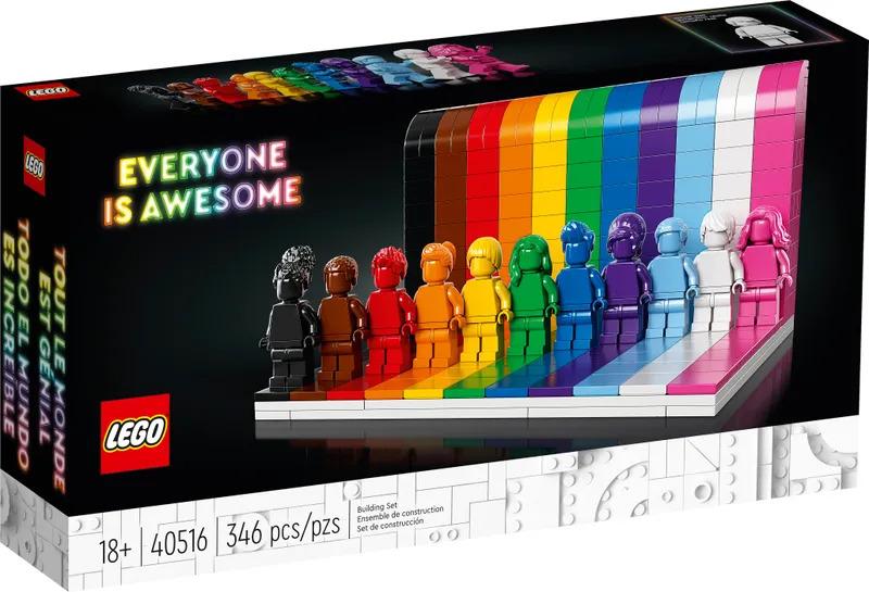 LEGO 於 2021 年的同志驕傲月的第一天—— 6 月 1 日正式開始發售,售價為 US$34.99(約 HK$273)