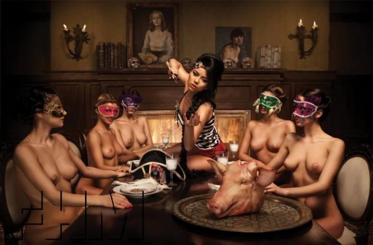 Topless inna More Women
