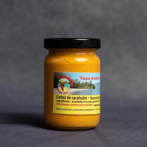 hot sauce swiss-mex cacahuète 106 ml pot
