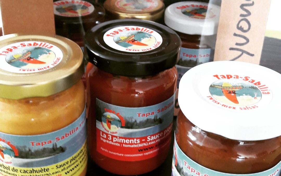 Acheter des sauces piquantes Swiss-Mex 100% végétales ! 2018 Nouvelles étiquettes et +