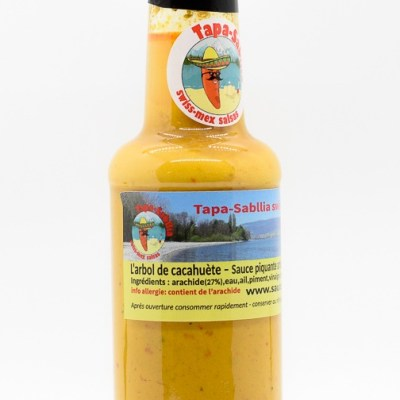 arachide hot sauce SwissMex Bottle 150ml