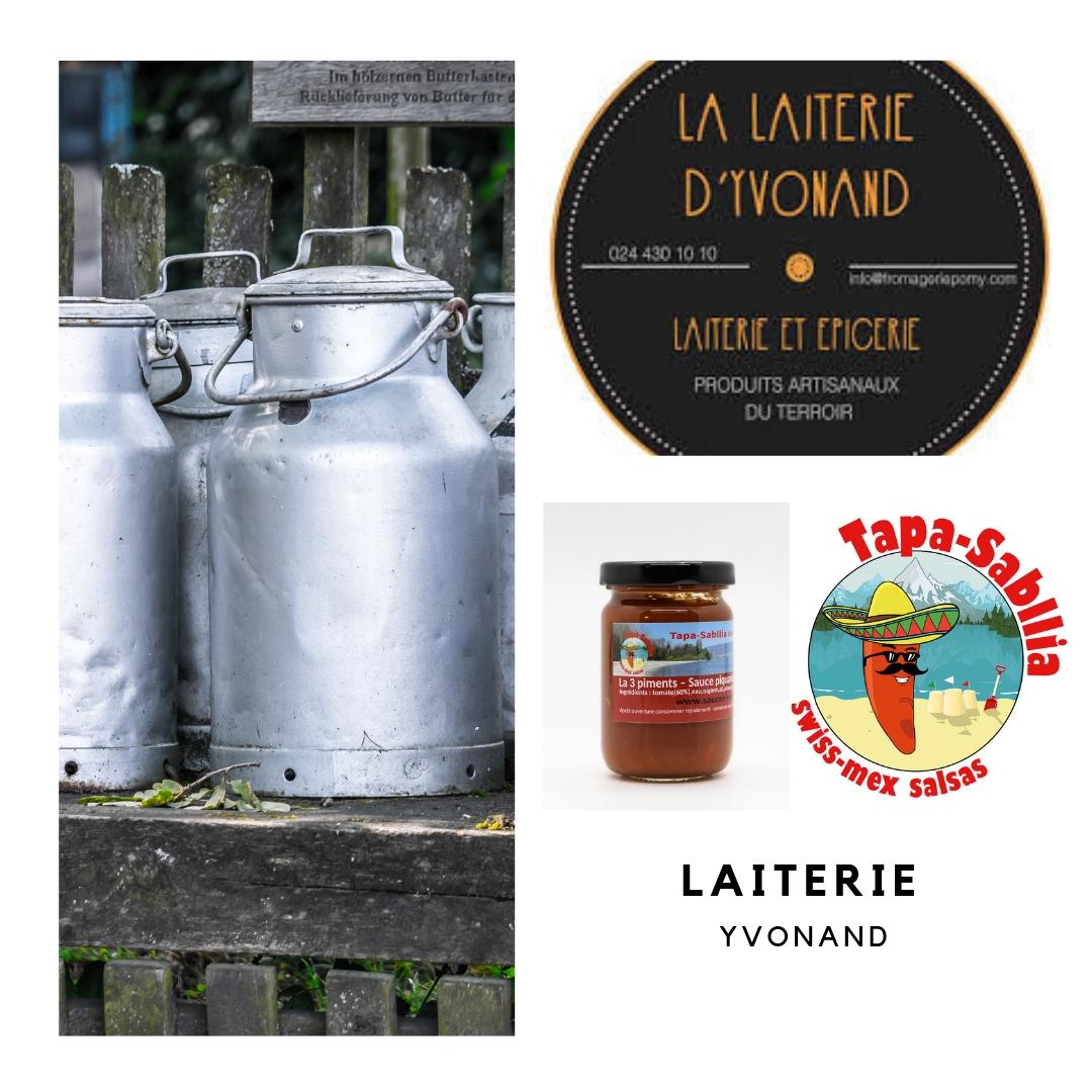 Laiterie-Yvonand Acheter nos sauces piquantes : les points de ventes