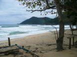Abandoned surf village