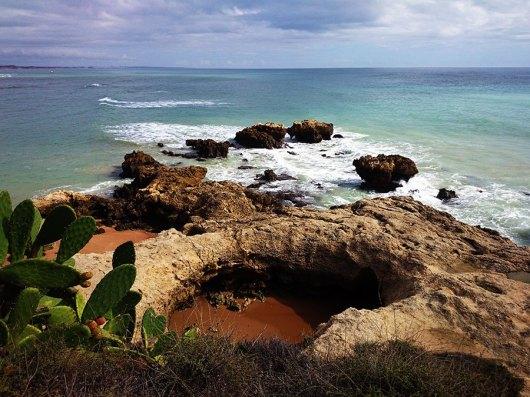 Strandwandeling Albufeira | Saudades de Portugal