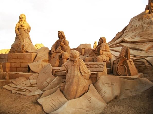 FIESA Zandsculpturen | Saudades de Portugal