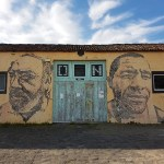 Street art op de Azoren
